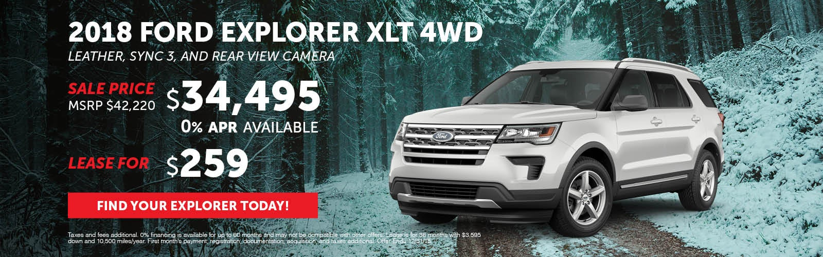 2018 Ford Explorer XLT | Stoneham Ford Specials Stoneham, MA (Page 3)